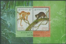 Australia Stamps SGMS1588 Australia Indonesia Joint Issue miniature sheet